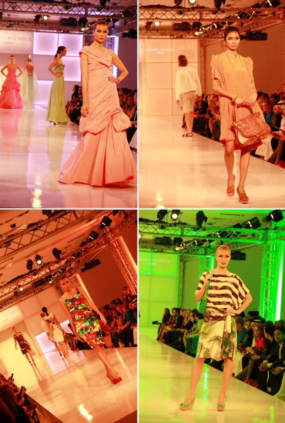 Harvey Nichols Fashion Show, Dubai