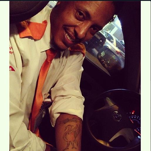 Teddy; Dubai taxi driver and Liverpool FC fan