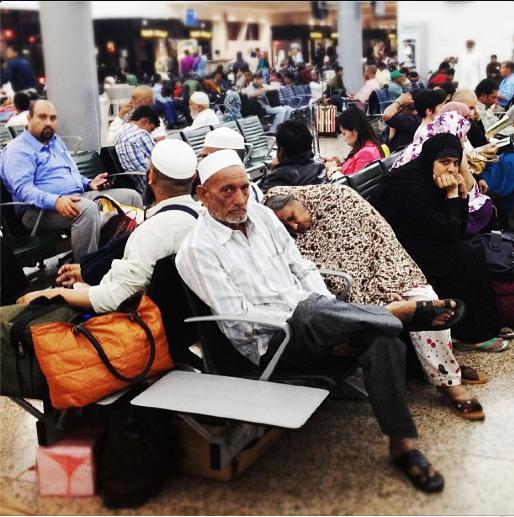 Unhappy people, T2, Dubai