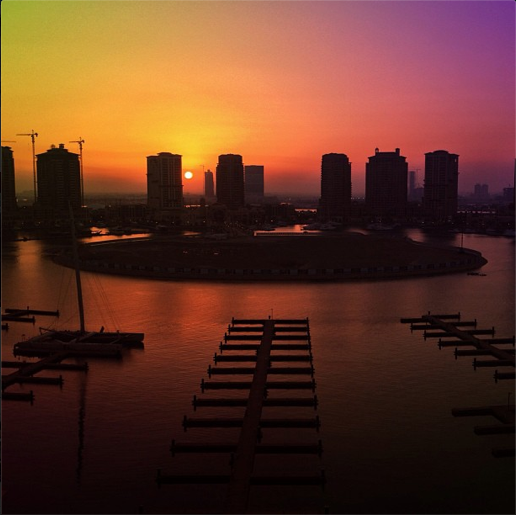 My new view, Doha