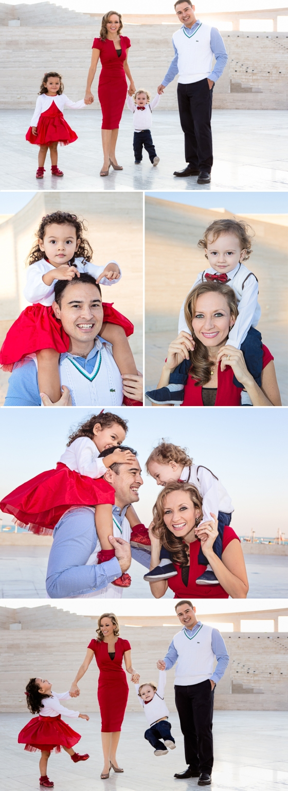 Doha family photo shoot